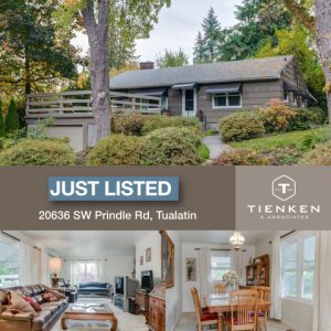 Tualatin Just Listed