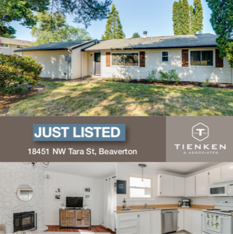 Just listed in Beaverton